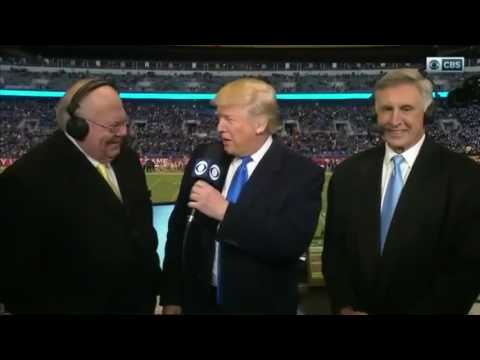 Donald Trump Attends Army - Navy Game 2016