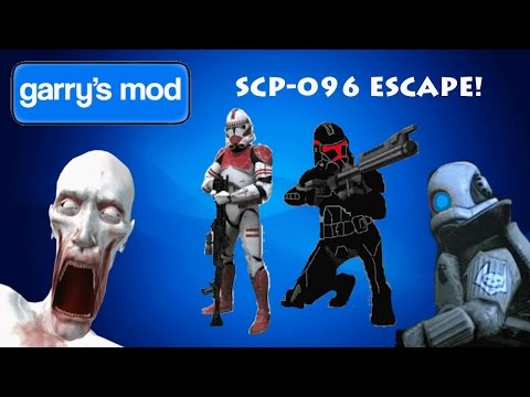 Garrys Mod | SCP-096 Escape | MY HEART CANT HANDLE THIS |