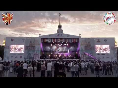 The full @UK3Lions @artfootballfest Concert 2015 in Moscow, Russia - www.robholding.co.uk