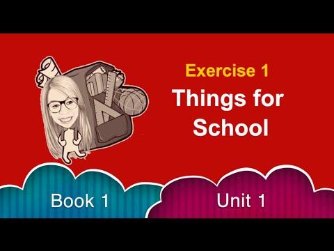 แบบฝึกเพิ่มทักษะพูด Book 1 Unit 1