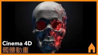 Cinema 4d - 髑髅動畫教學