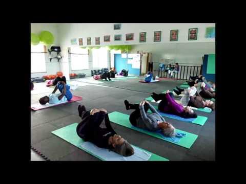 Aula Pilates Março 2014