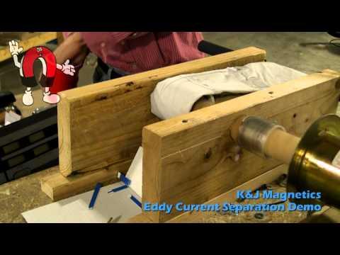K&J Magnetics - Eddy Current Separator