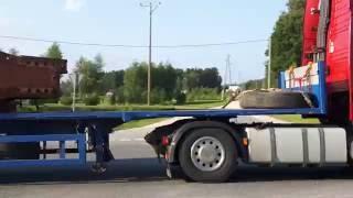 Перевозка негабарита на СПб. 4 машины!(, 2016-07-27T16:20:55.000Z)