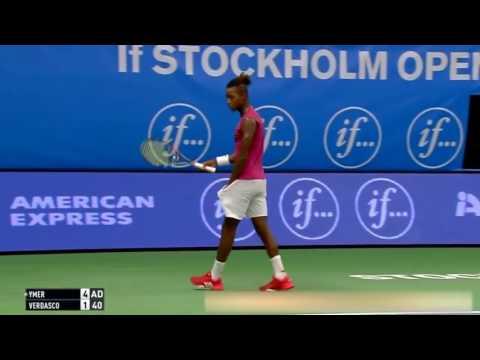 Mikael Ymer vs Fernando Verdasco Highlights Stockholm 2016