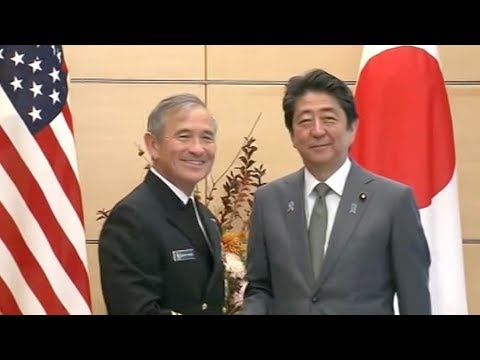 Japan, US stage naval drill amid DPRK tension