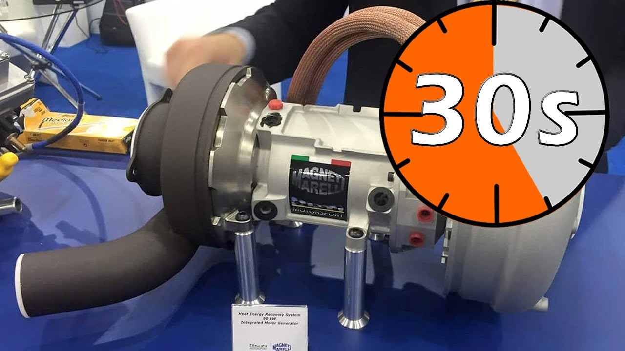 Hybrid Electric Turbos Explained In 30 Seconds