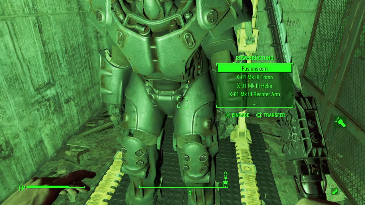 Fallout 4 Fundort X 01 Mk Iii Powerrüstung Ps4 Gameplay Youtube