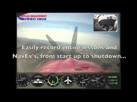 Cockpit Camera Video - VBOX Video Flight Recorder