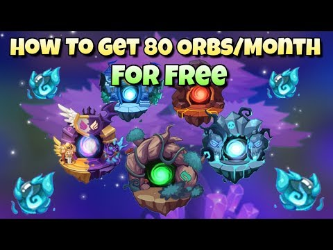 Idle Heroes (O) - How To Get 80 Orbs For FREE - Guide To Get Full Completion Each Month