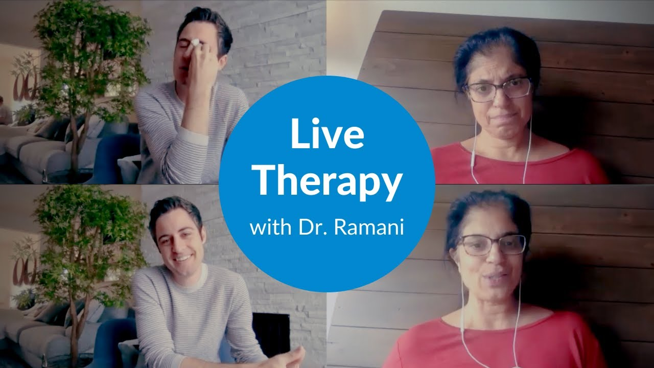 Watch a Live Therapy Session with Dr. Ramani [WITH ME Series Part 2]