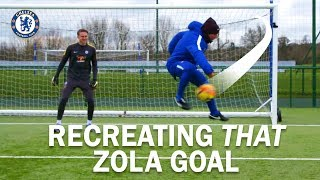 Can Gianfranco Zola Recreate THAT goal v Norwich?!