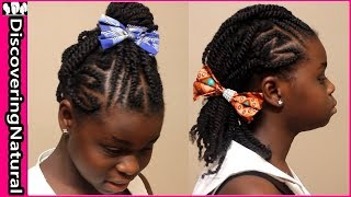 5 Quick Hairstyles for Natural Hair Teenagers | HIGHLY REQUESTED