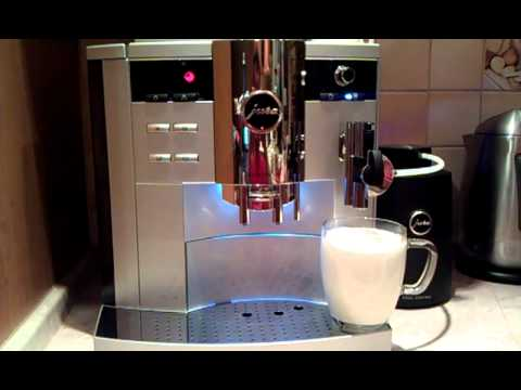 jura impressa s9 latte macchiato youtube. Black Bedroom Furniture Sets. Home Design Ideas