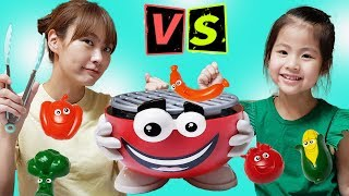누가 요리를 더 잘할까요?!! 서은이와 엄마의 요리대결 바베큐 보드게임 Cooking Contest Board Game with Mommy