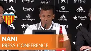 vuclip NANI: 'VALENCIA CF ARE A VERY BIG CLUB AND I COME HERE WITH A LOT OF AMBITION'