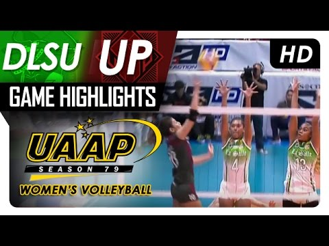 DLSU vs UP  | Game Highlights | UAAP 79 WV | March 19, 2017