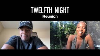 Daniel Ezra and Tamara Lawrance play Mr and Mrs | Twelfth Night Reunion | National Theatre at Home