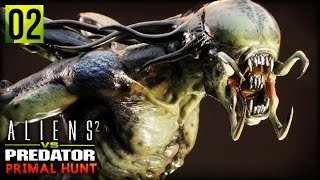 Aliens VS Predator 2 : Primal Hunt | A FULL GROWN PREDALIEN (Predalien Campaign Part 2)
