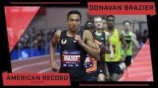 Donavan Brazier Breaks 800m American Record At Millrose Games