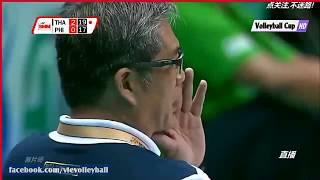 AVC Philippines vs Thailand intense rally