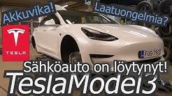 Tesla 3 SR+, sähköauto on löytynyt!