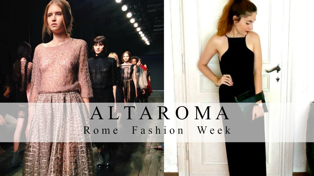Rome Fashion Week July 2016