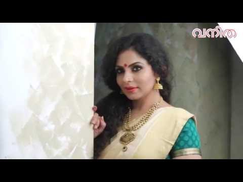 Asha Sharath Vanitha Cover Shoot VIdeo
