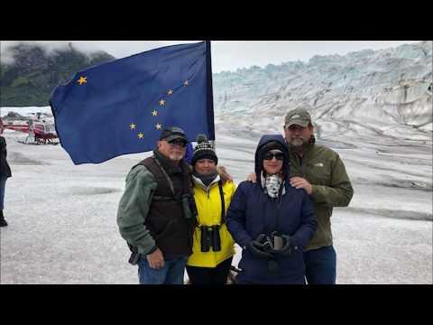 Mendenhall Glacier Juneau Alaska June 2018