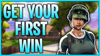 How To Get Your First WIN In Fortnite Battle Royale