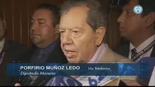 """Afirma Porfirio Muñoz Ledo que Trump """"Ya nos tienen en la bolsa"""
