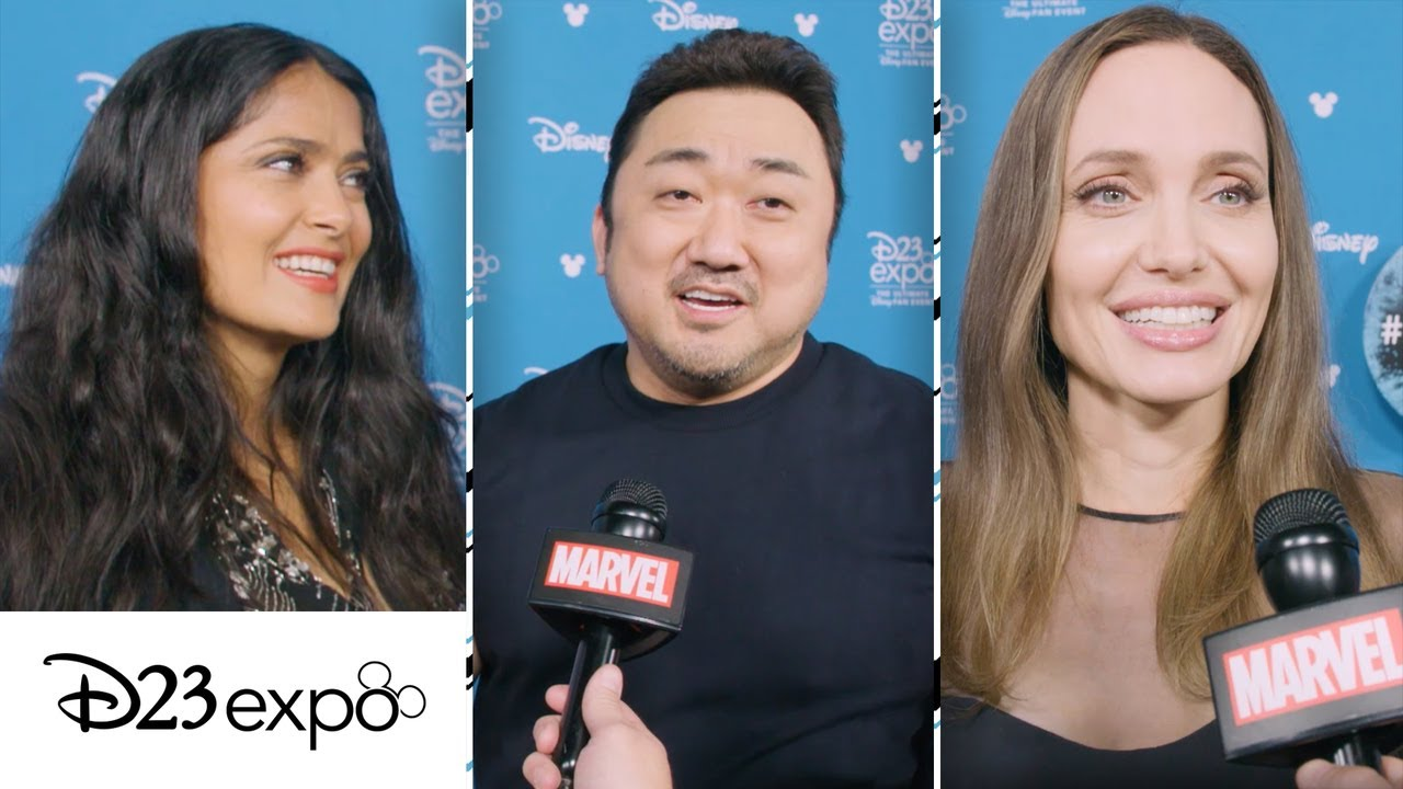 Meet the cast of Marvel Studios' The Eternals at D23 Expo