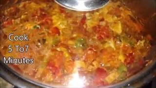 chole curry in telugu