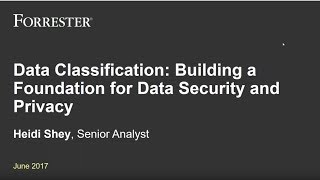 Data Classification: Building a Foundation for Data Security and Privacy
