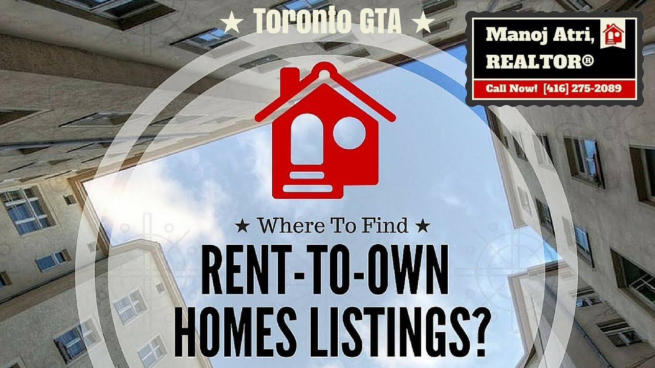 rent to own homes free 100 listings toronto gta youtube