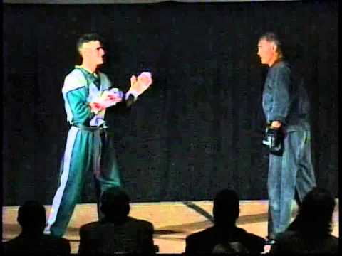 Bill Superfoot Wallace Special Demo at Adult Finals at 1995 Empire State Nationals