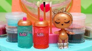 Brinquedonovelinhas Brincando Com a Nova LOL Surpresa Glitter Factory Para Customizar Bonecas