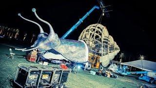 The Making of Helix Poeticus (aka Coachella Snail)