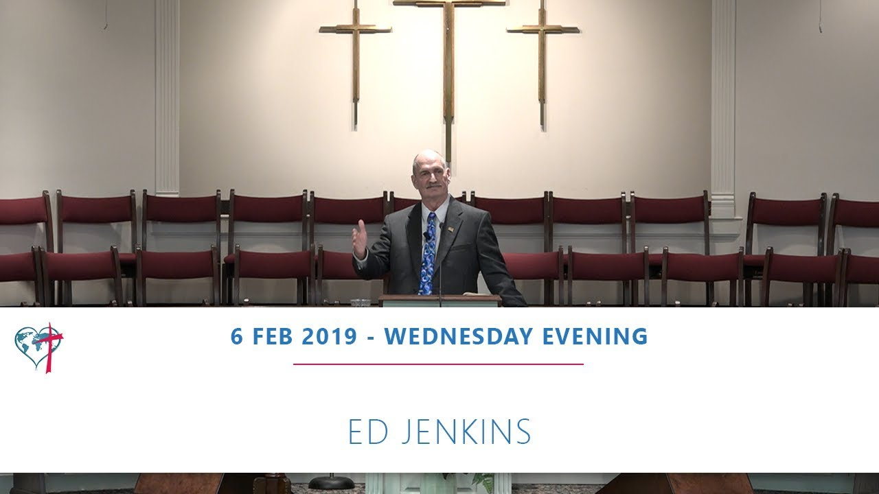 Wednesday 6 February 2019 Ed Jenkins 6 February 2019 Wednesday Evening Cbc Service