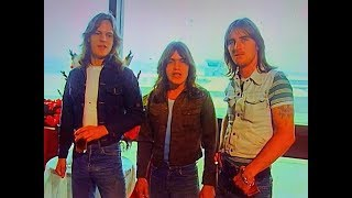 AC/DC Funny Moment On Countdown 1976 Malcolm Young Phil Rudd Mark Evans