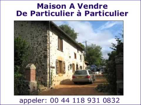 maison en pierre avec 5 chambres a coucher limousin vente de particulier a particulier youtube. Black Bedroom Furniture Sets. Home Design Ideas