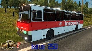 Euro Truck Simulator 2 обзор мода (Ikarus 250)
