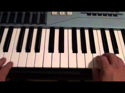 How to play Paranoid on piano - Ty Dollar $ign ft. B.o.B. - Tutorial