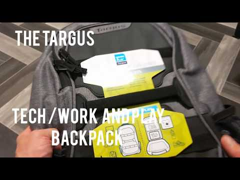 Review - The Targus works and play 27L backpack. #Targus #Tech #Travel #Sports