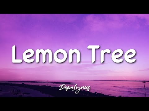 Lemon Tree - Fools Garden (Lyrics) 🎵