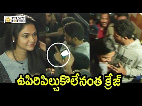 Allu Arjun Wife Sneha Reddy Shocked With His Craze @DJ Movie Fans Show - Filmyfocus.com