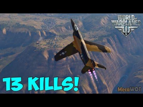 World of Warplanes | Lockheed XF-90 | 13 KILLS - Replay Gameplay 1080p 60 fps