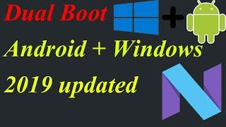 dual boot windows and android using easy bcd 2.3 HD content