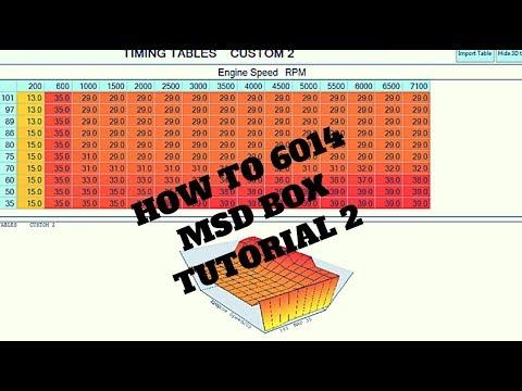 D&E PERFORMANCE MSD LS 6014 BOX TUTORIAL#2