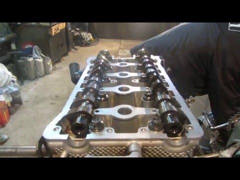 Сборка двигателя. дэу нексия.Часть 2
